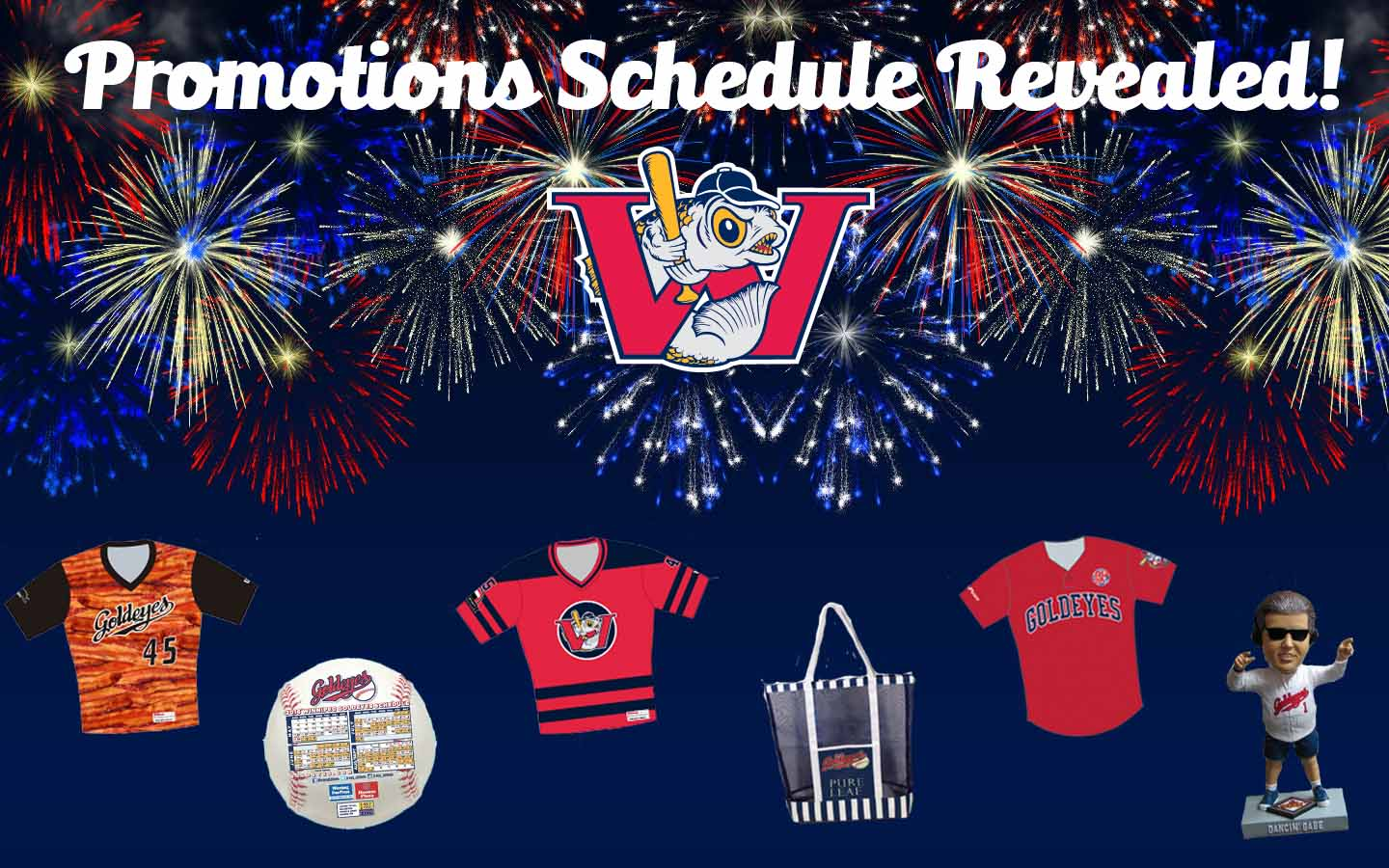 Goldeyes Reveal 2016 Promotions