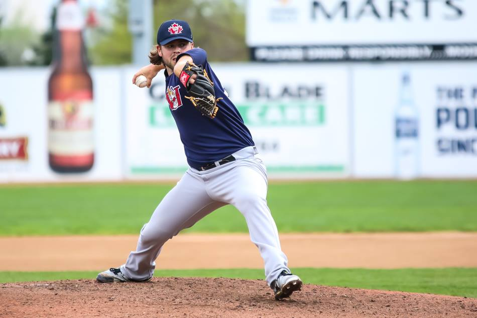 Pitching and Power Lead Goldeyes to First Win