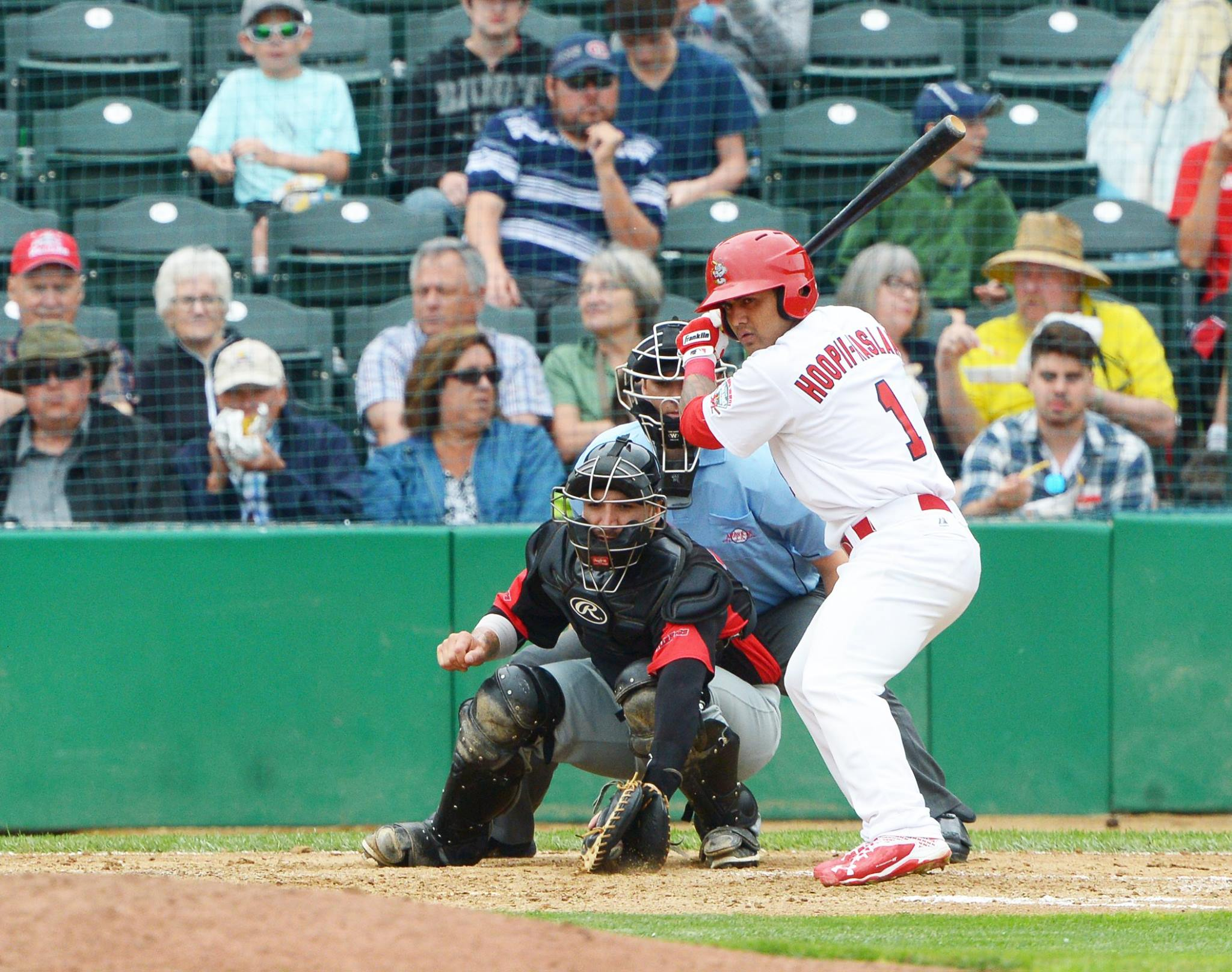 Big First Helps Goldeyes Take Series
