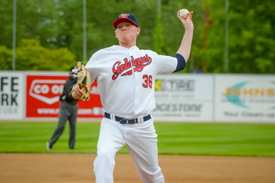 Anderson Nearly Perfect as Goldeyes Beat Lincoln