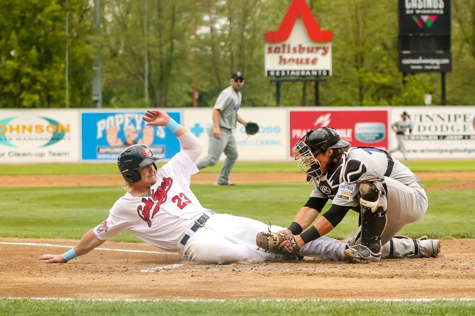 Goldeyes Drop Finale to Saints