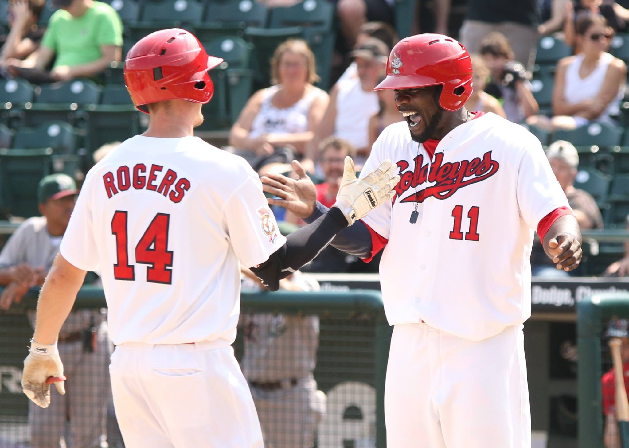 Goldeyes Homer Six Times In Series Victory