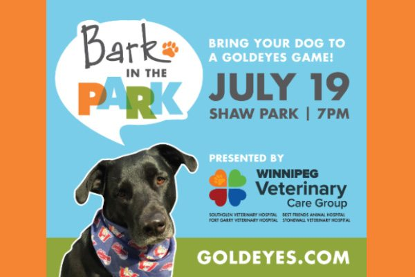 Bark in the Park Returns Tuesday Night!