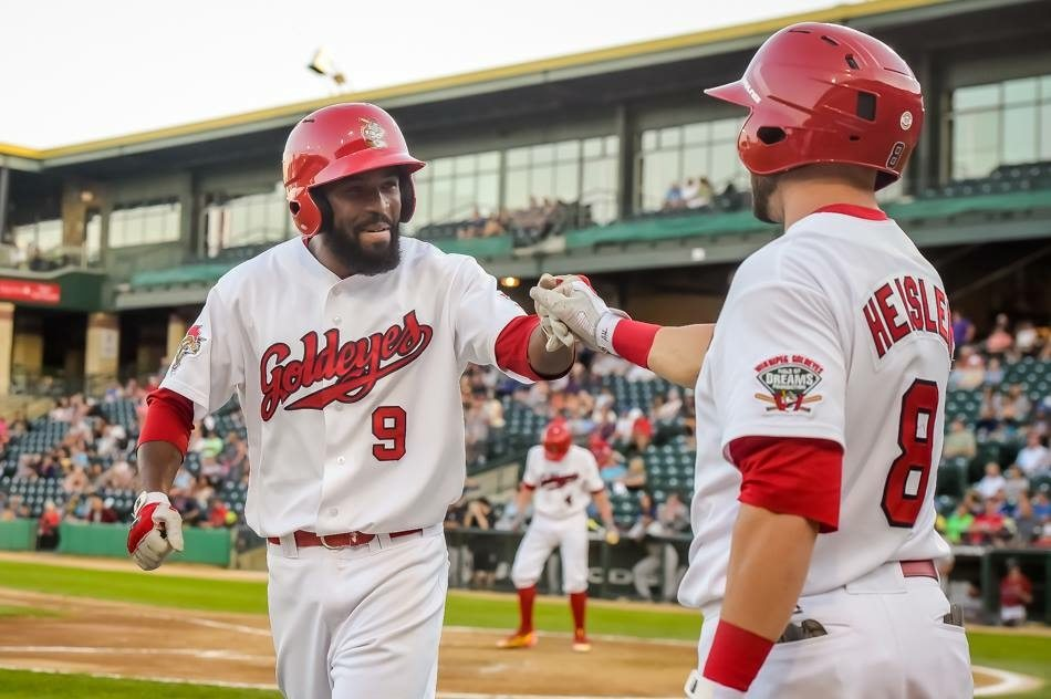 Goldeyes Win With Seven-Run Eleventh