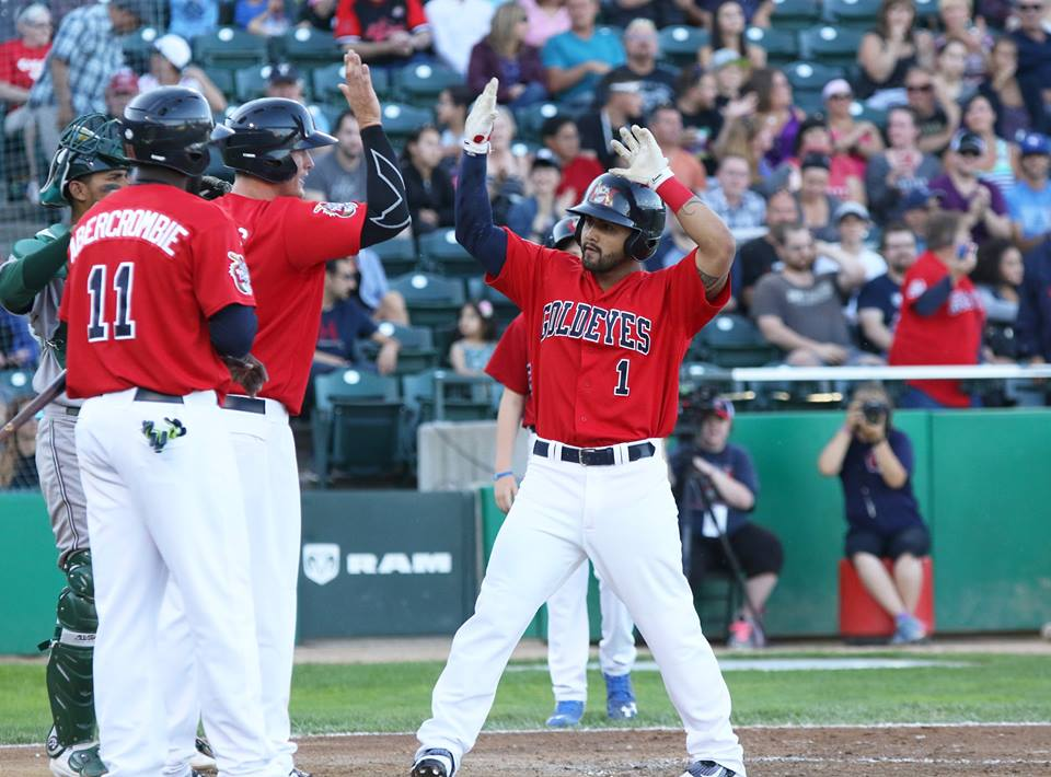Goldeyes Win Thriller in Kansas City
