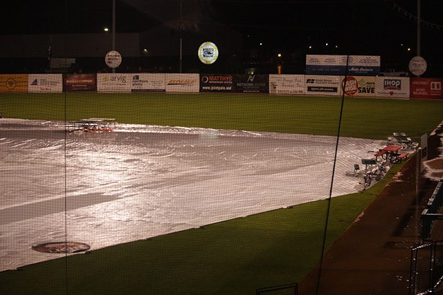 Goldeyes and RedHawks Rained Out