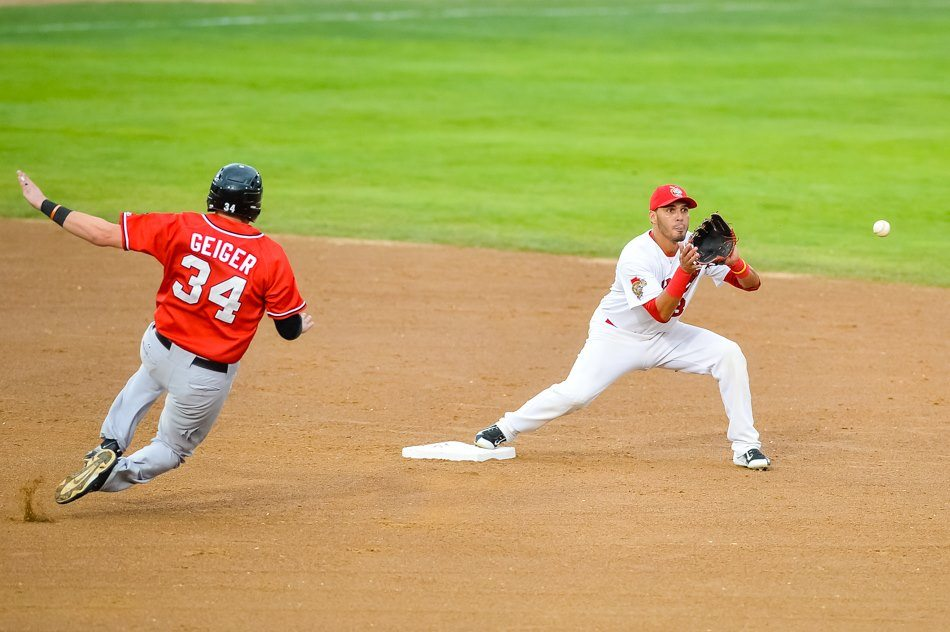 RedHawks Pull Away From Goldeyes Late