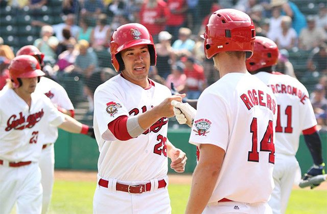 Goldeyes Capture Ninth Straight Win