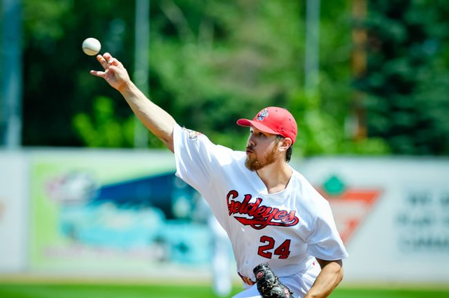 Goldeyes Sweep Series at U.S. Steel Yard