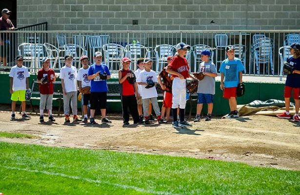 August 3, 2016, Winnipeg, MB. Goldeyes Kids Camp at Shaw Park, Credit Winnipeg Goldeyes Photographer Tara Miller