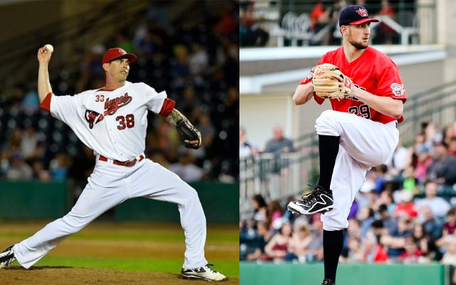 Big Right-Handers Return to Pitching Staff