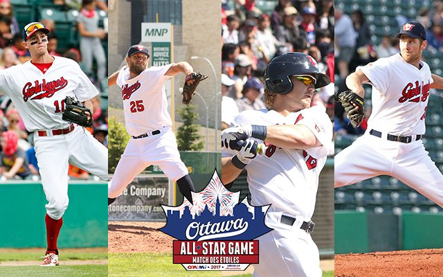 Four Goldeyes Headed to Ottawa for All-Star Game