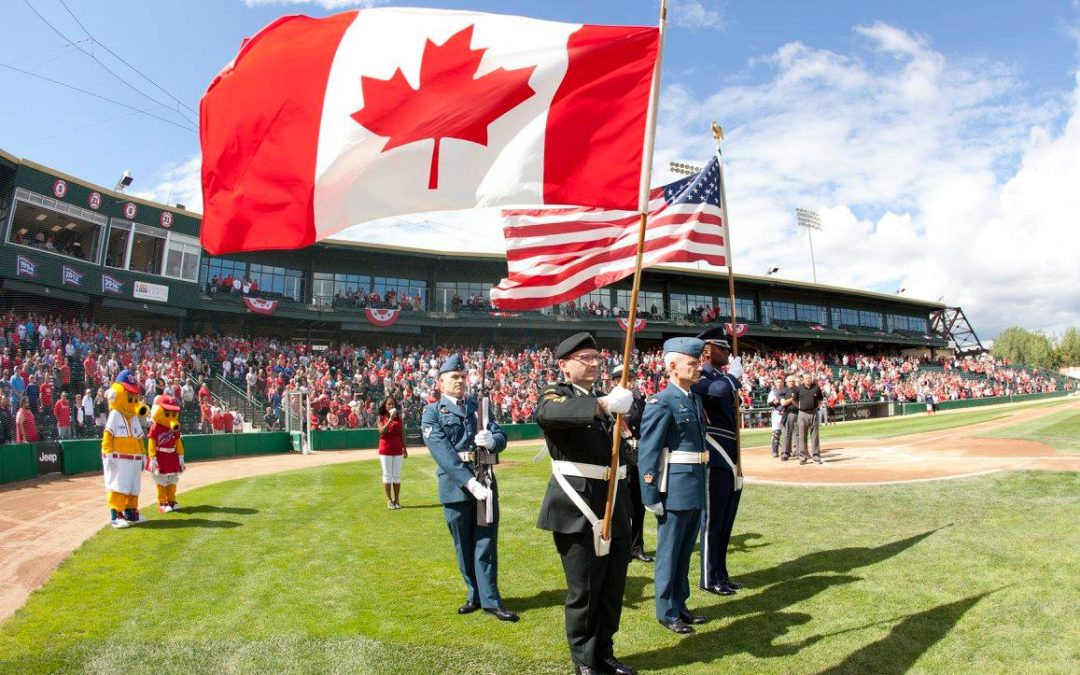 Goldeyes Celebrate Canada 150 With Victory