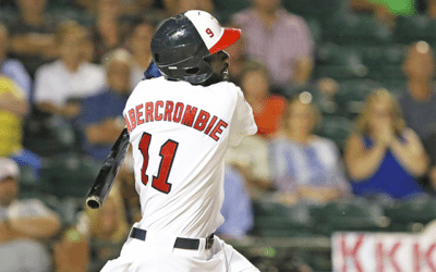 Abercrombie Sets League RBI Record, Goldeyes Fall to RedHawks in 10