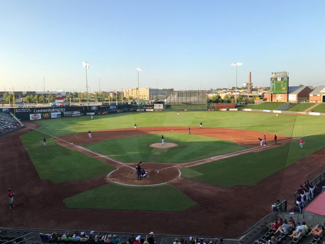 T-Bones' Big Inning Bests Goldeyes