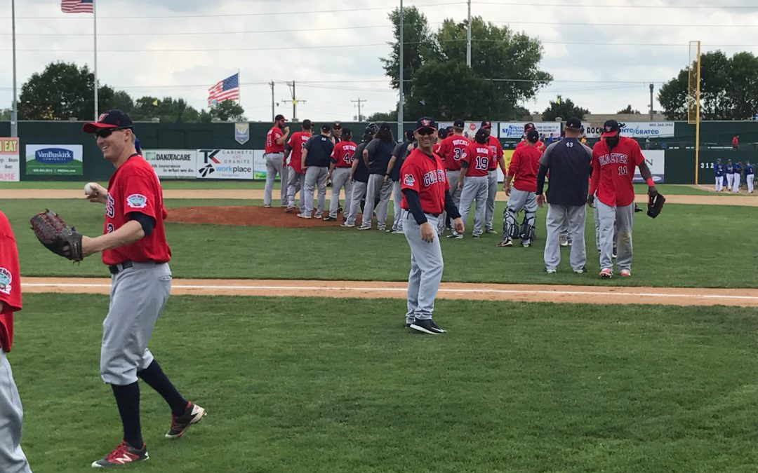 Goldeyes Hang On To Win Rubber Match in Sioux Falls