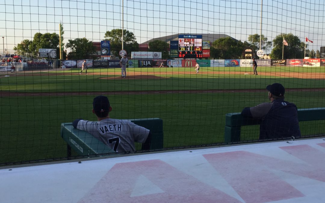 Goldeyes' Ninth-Inning Rally Not Enough Versus RedHawks