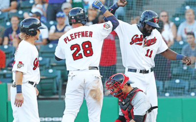 Goldeyes Erase Early Deficit, Rally Past Wingnuts