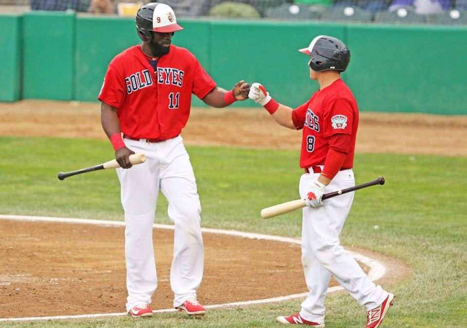Goldeyes Shine in All Areas in Win Over Saints