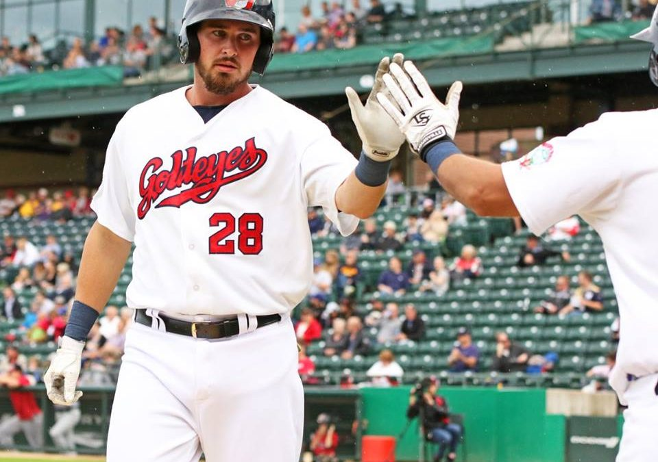 Goldeyes Rally in Opener, Nightcap Suspended