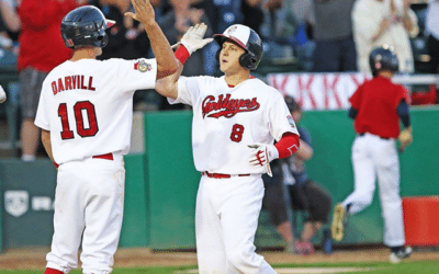 Clutch Homers in Fifth Lift Goldeyes Over Saints