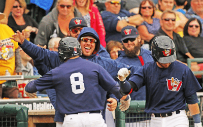 Katz Homers Three Times as Goldeyes Close Regular Season With Victory