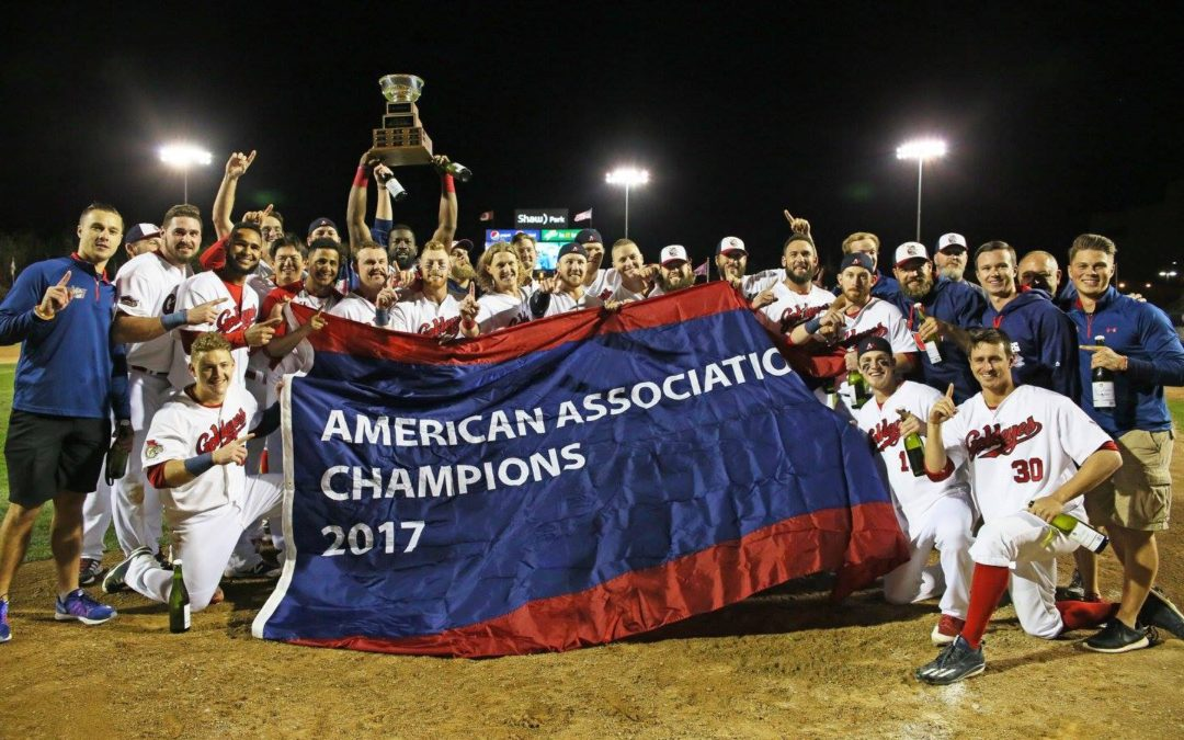 Goldeyes Win 2017 American Association Championship!