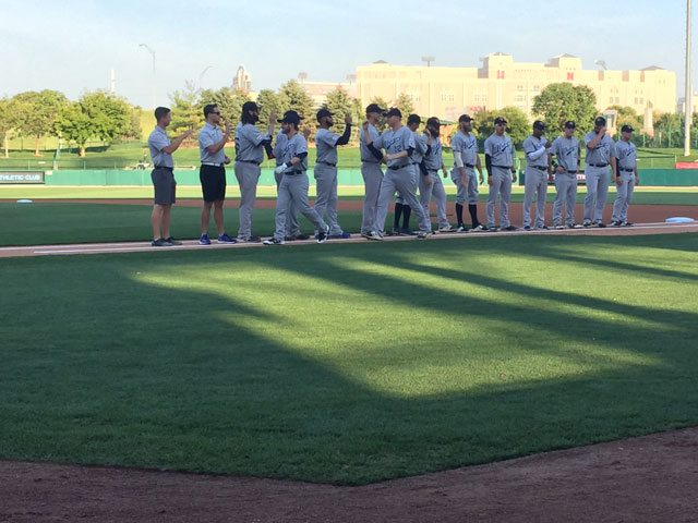 Goldeyes Grind Out Game One Victory