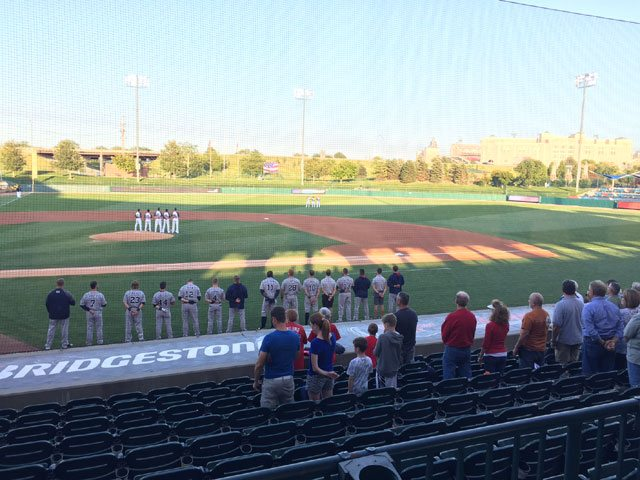 Saltdogs Rally Early to Even Series on Goldeyes