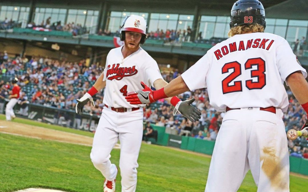 Rosario, Rohm Lead Goldeyes to 2-1 Series Lead