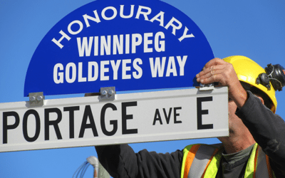 Winnipeg Goldeyes Recognized With Honourary Street Naming