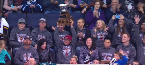 Manitoba Moose Honour Goldeyes