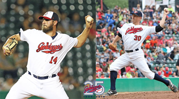 Steady Southpaws Return to Goldeyes