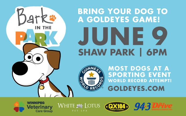 Bark in the Park Returns June 9