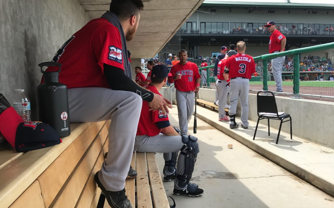 Goldeyes Win 4-3 Over the Railroaders in Afternoon Matchup