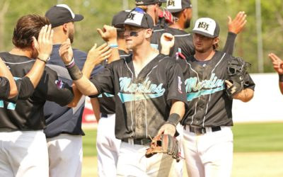 Late Rally, Strong Pitching Lift Goldeyes in Rubber Game