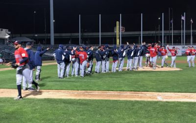 Goldeyes Edge RailCats to Even Series
