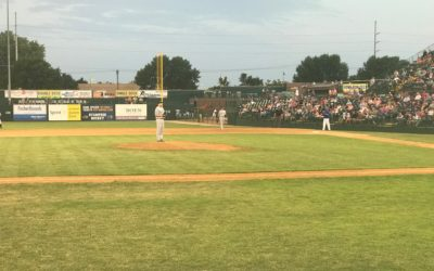 Canaries Edge Goldeyes in Well-Pitched Game
