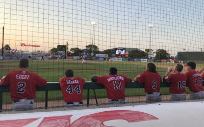 Mendonca Homers Twice, But Goldeyes Edged in Ninth