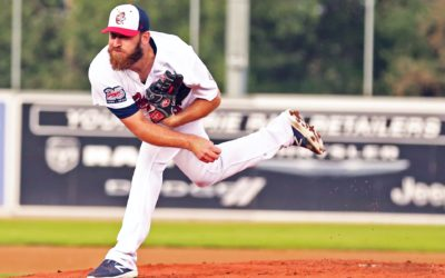 Herron Tosses Shutout, Offence Shines Over AirHogs