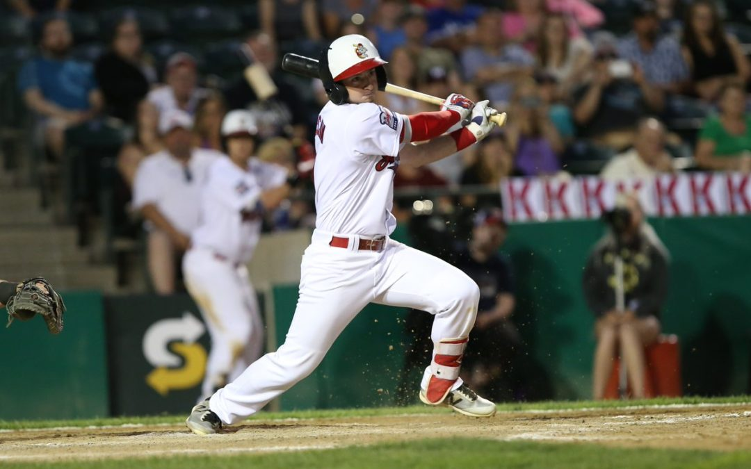 McCann Drives in Four as Goldeyes Mount Comeback