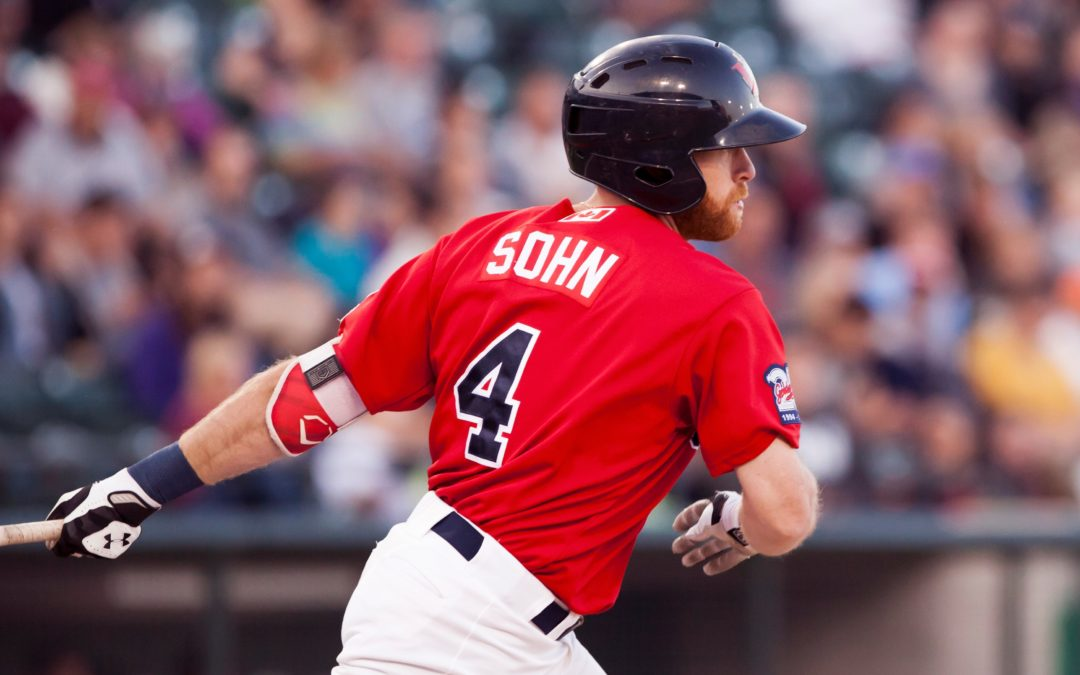 Sohn, Pitching Help Goldeyes Beat RedHawks