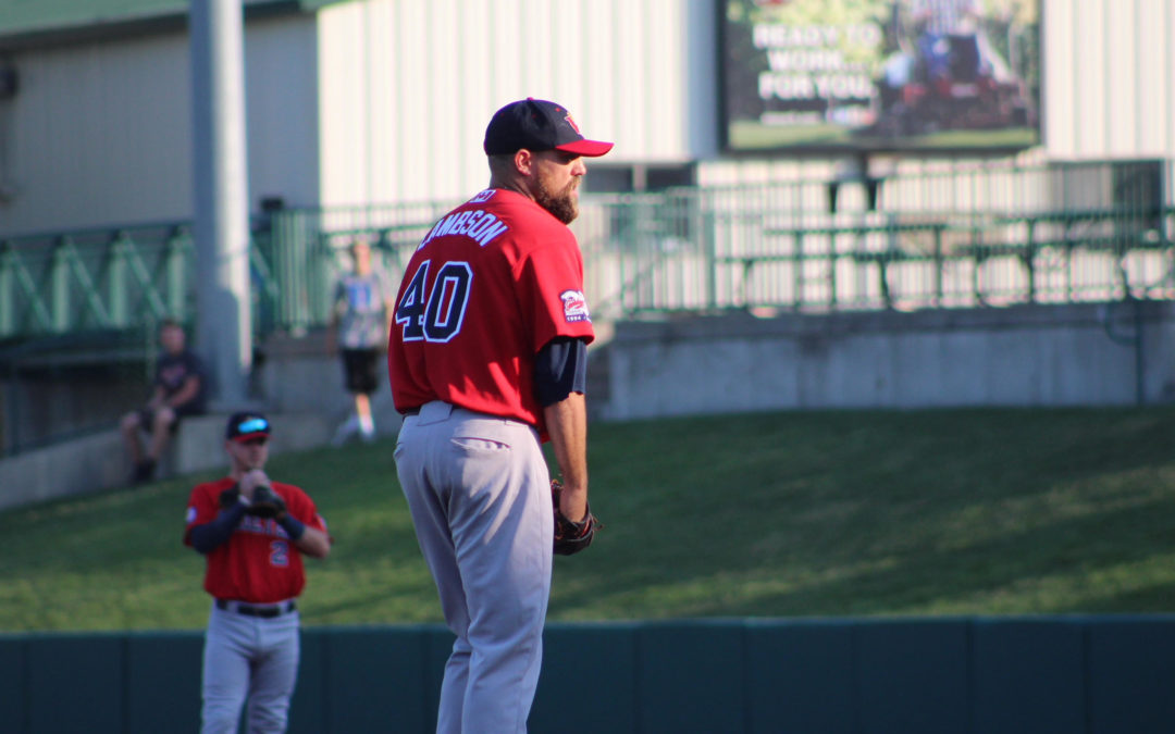 Homers Drive Goldeyes to Series Win Over Saltdogs