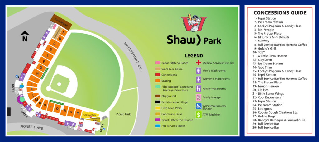 Shaw Park Directory 2019