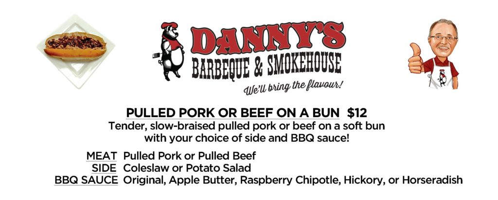 Danny's Barbeque & Smokehouse Menu 2019