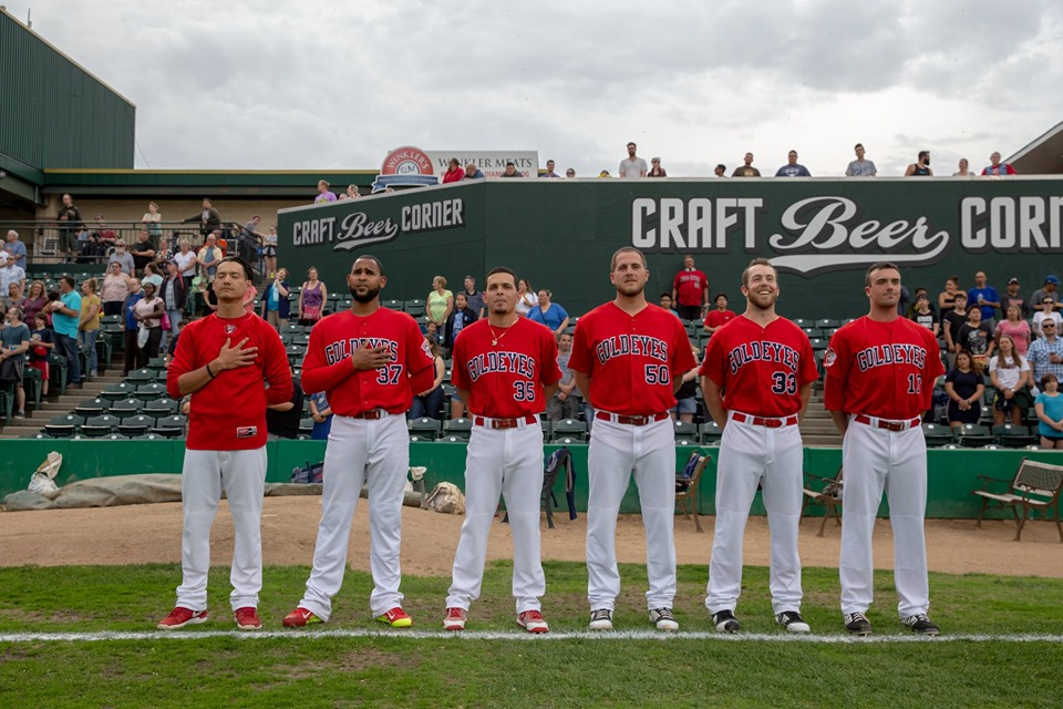 Goldeyes Exercise Options on 15 Players