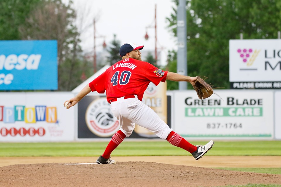 Lambson Delivers Two-Hit Shutout Over Saints