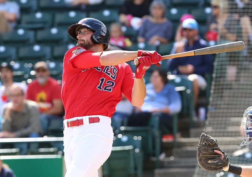 Multi-Tooled Outfielder Returns to Goldeyes