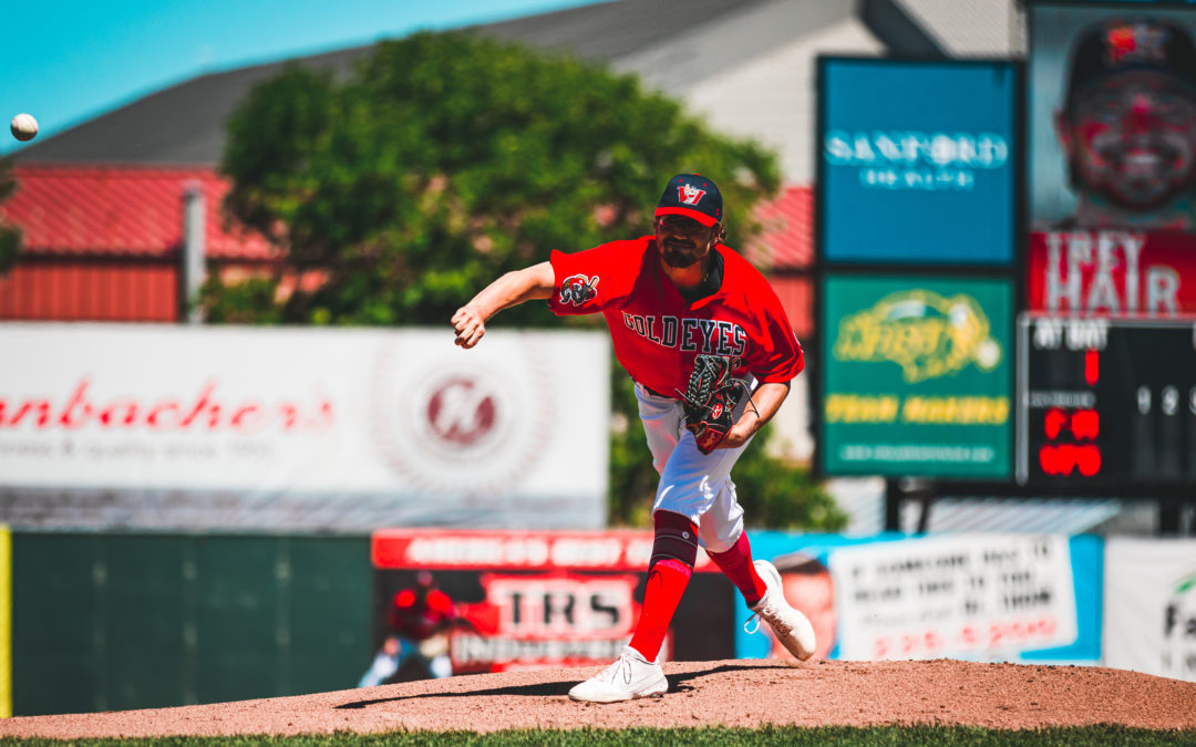 Goldeyes Top RedHawks in Pitching Duel