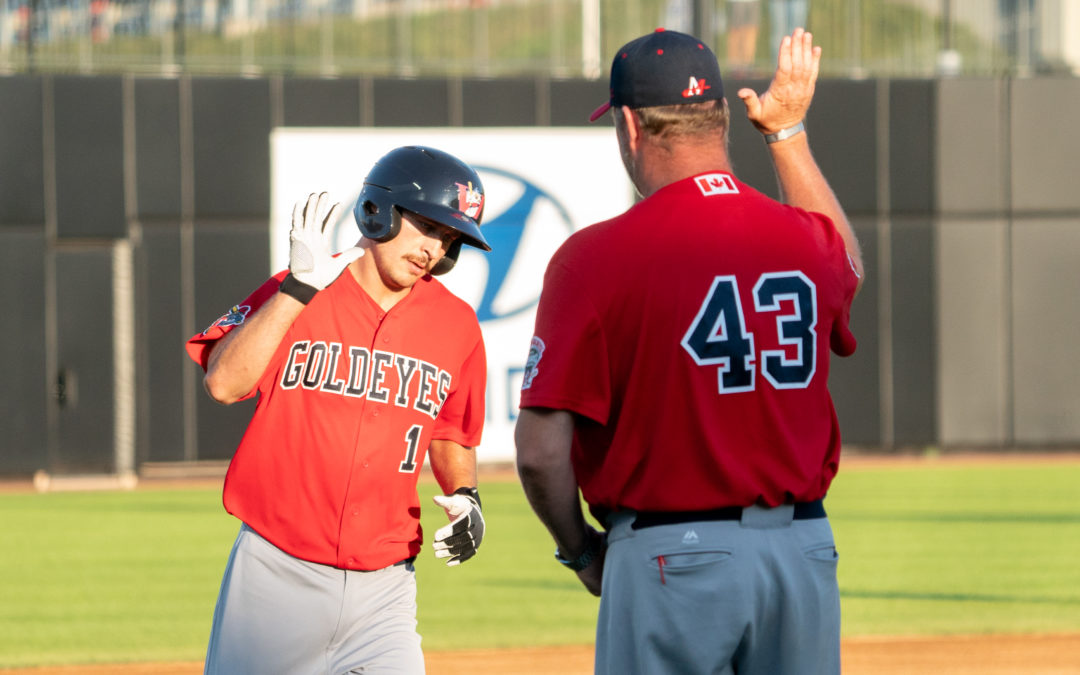 Goldeyes Blast Five Home Runs in Sixth Straight Win